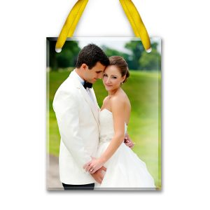 Photo Glass Ornament